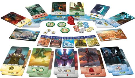 7 Wonders Duel: Pantheon   Across the Board Game Cafe