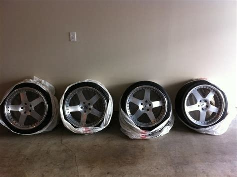 For Sale: DPE 19 R05 5X112 Wheels 2pc Forged Rims - $900