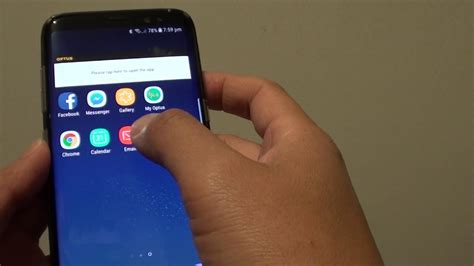 Samsung Galaxy S8: How to Remove Home Screen Apps Icon