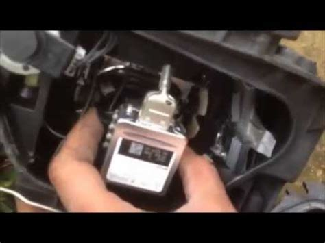 A5 Headlamp change / How to replace a headlight bulb on an