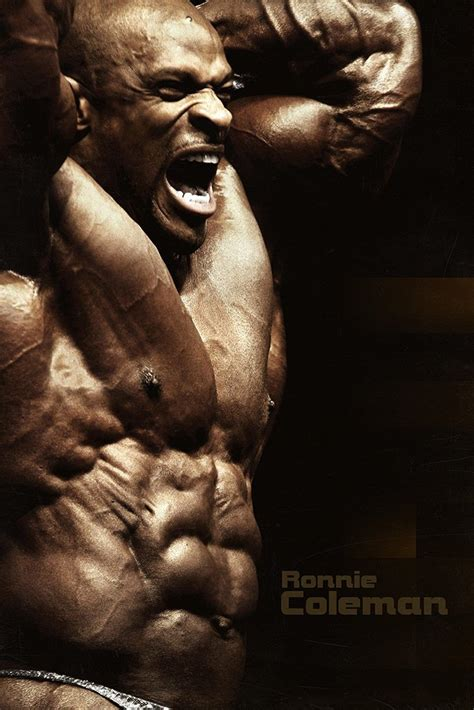 Ronnie Coleman Bodybuilder Poster – My Hot Posters