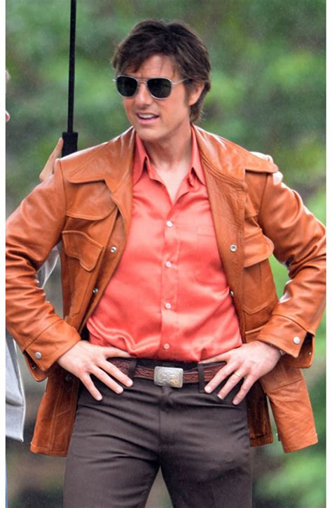 Buy Tom Cruise Leather Jacket - Barry seal- American made