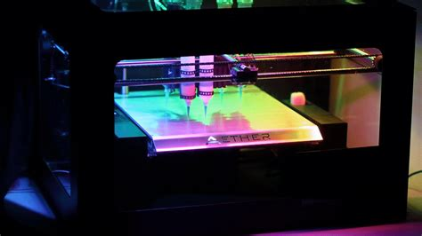 Soon-to-Be-Released Aether 1 3D Printer Can Do Absolutely