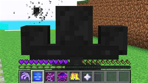 PLAYING MINECRAFT AS THE WITHER! - YouTube