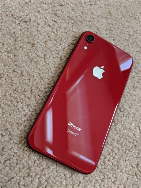 Apple iPhone Xr (Unlocked) [A1984] - Red, 128 GB