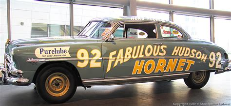 Herb Thomas' #92 Hornet   Made famous in the Disney film