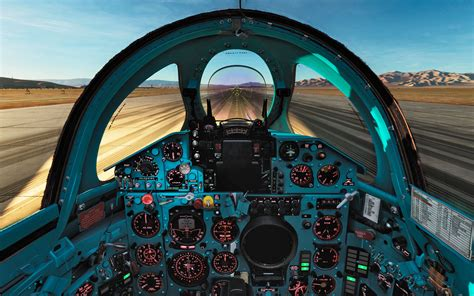 Clean english cockpit for the MIG-21 DCS World 2