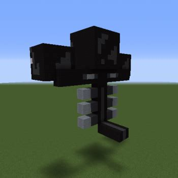 Wither Boss - GrabCraft - Your number one source for