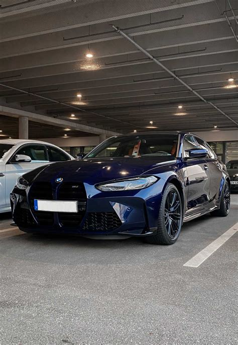 2021 BMW M3 G80 in Tanzanite Blue II: Is This The Best