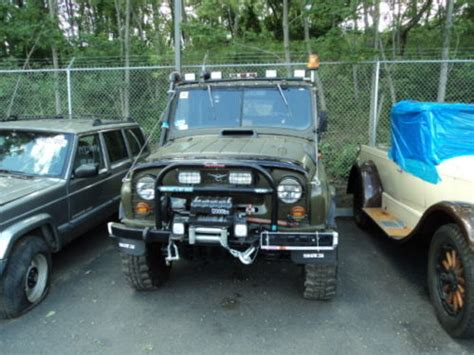 1985 UAZ 469B 4x4 Russian Military Jeep For Sale In USA