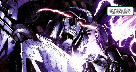 Megatron - IDW's The Transformers Guide