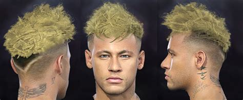 PES 2018 Neymar New Hair (WC 2018 Update) by nanilincol44
