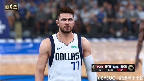 Luka Doncic Cyberface, Hair and Body Model V1
