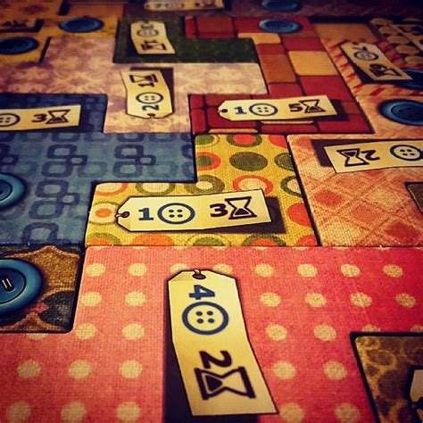 Patchwork Review   Cardboard Quest