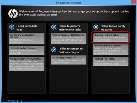 HP PCs - Creating a Recovery Image on Discs or Saving a