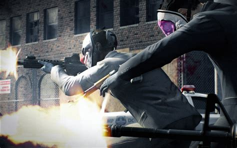 Payday 2 Full HD Wallpaper and Background Image