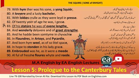 the squire poem summary Archives - EA English