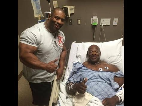 Ronnie Coleman In The Hospital For Back Surgery ! - YouTube