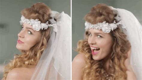 Over 50 Years Of Wedding Hairstyles In Two Minutes